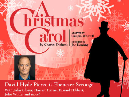 David Hyde Pierce Will Star In A Christmas Carol Benefit For The Acting Company Theatrical Index Broadway Off Broadway Touring Productions