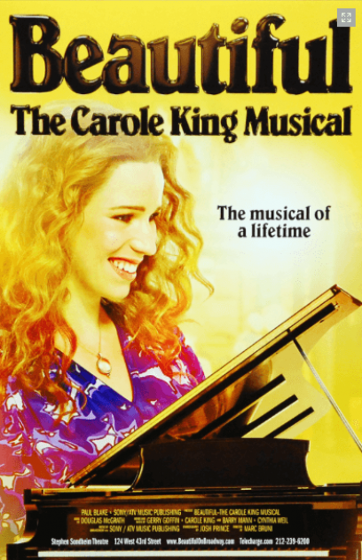 Beautiful The Carole King Musical Tour Show Details Theatrical